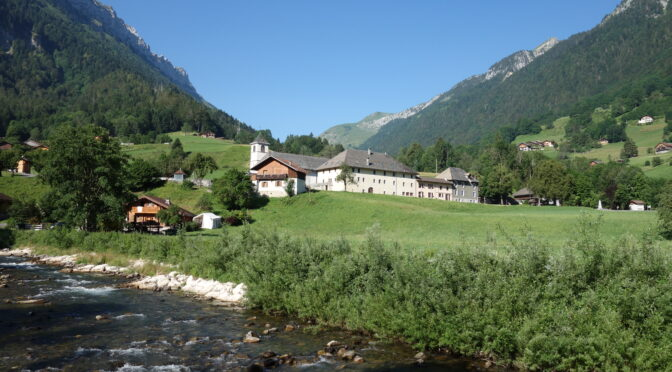 Ancienne abbaye d'Entremont à Glières-Val de Borne (Haute-Savoie)
